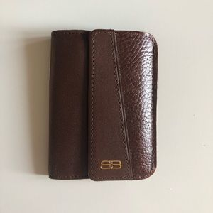 NWOT Balenciaga Leather Trifold Wallet/Coin Purse